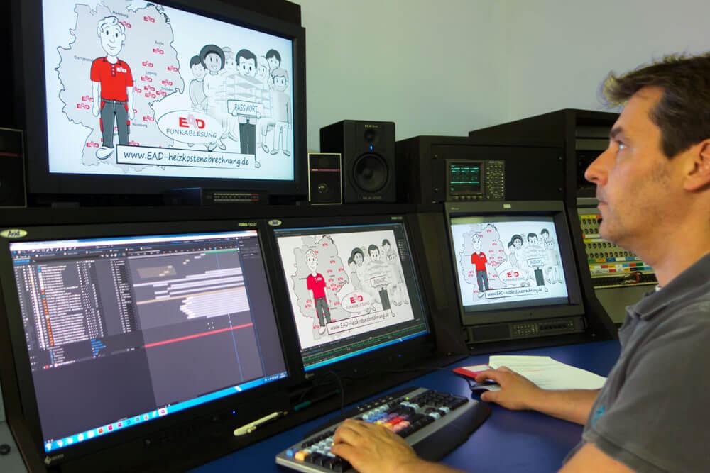 Erklärvideo-Produktion im Studio