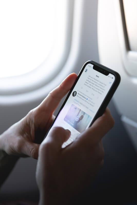 Twitter-App auf dem Smartphone
