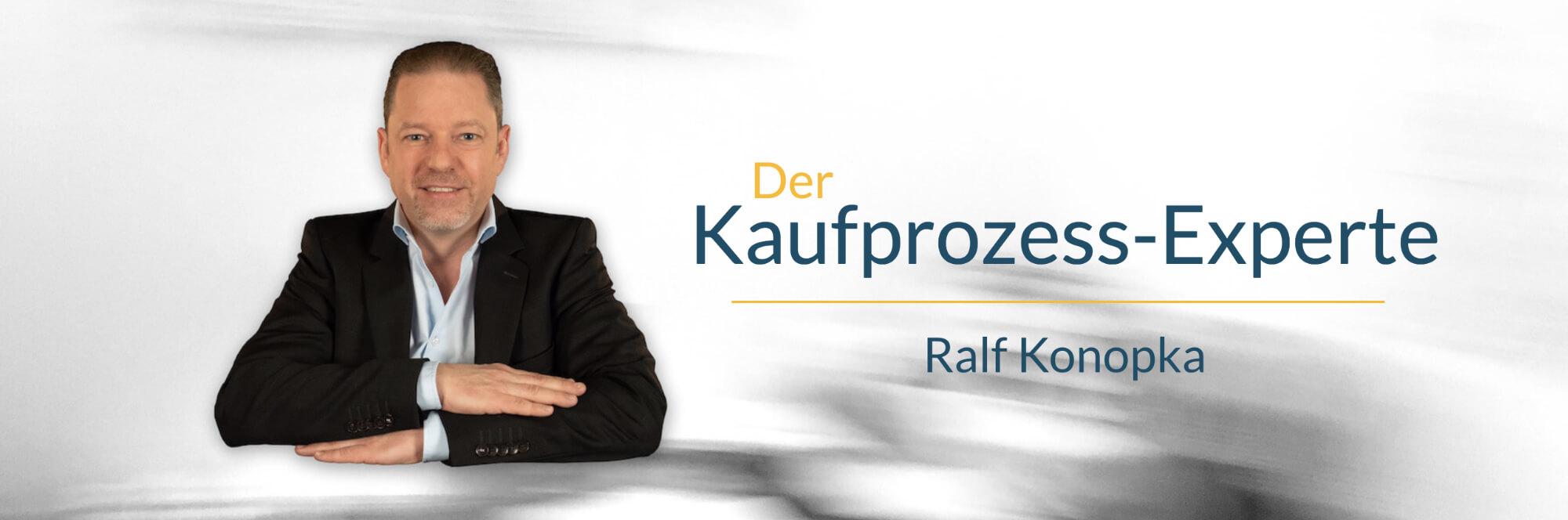 Der Kaufprozess-Experte Ralf Konopka